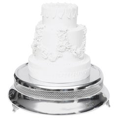 Art Deco Wedding Cake Stand/Plateau/Centerpiece