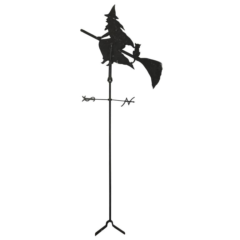 Vintage Witch Weather Vane