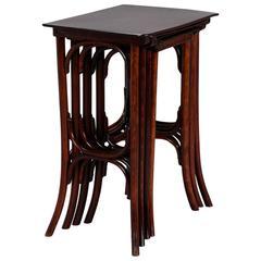 Set of Thonet Quartetto Nesting Tables