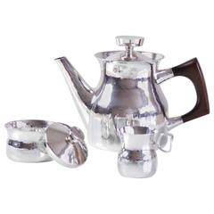 Eric Löfman Sterling Silver Coffee Service