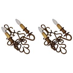 Two Wall Lights Sconces