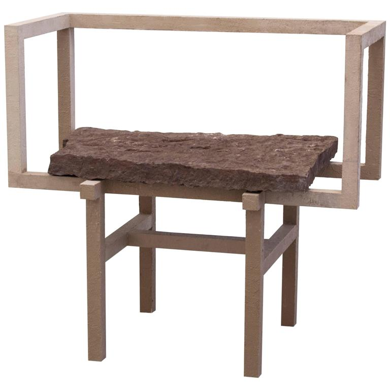 'Stoned' Armchair 1, by Fredrik Paulsen