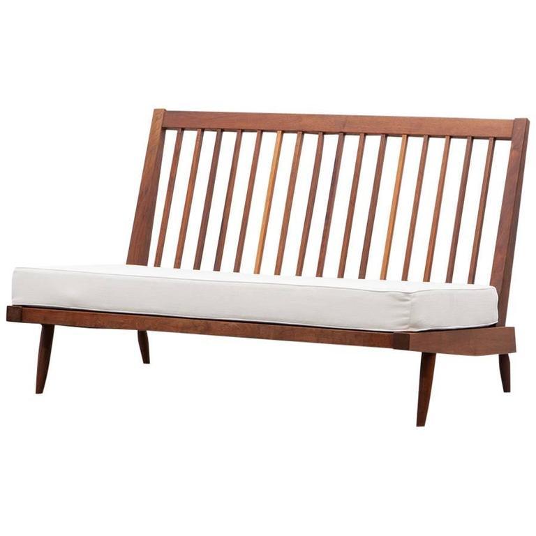 George Nakashima Sofa 39 B 39 New Upholstery For Sale At