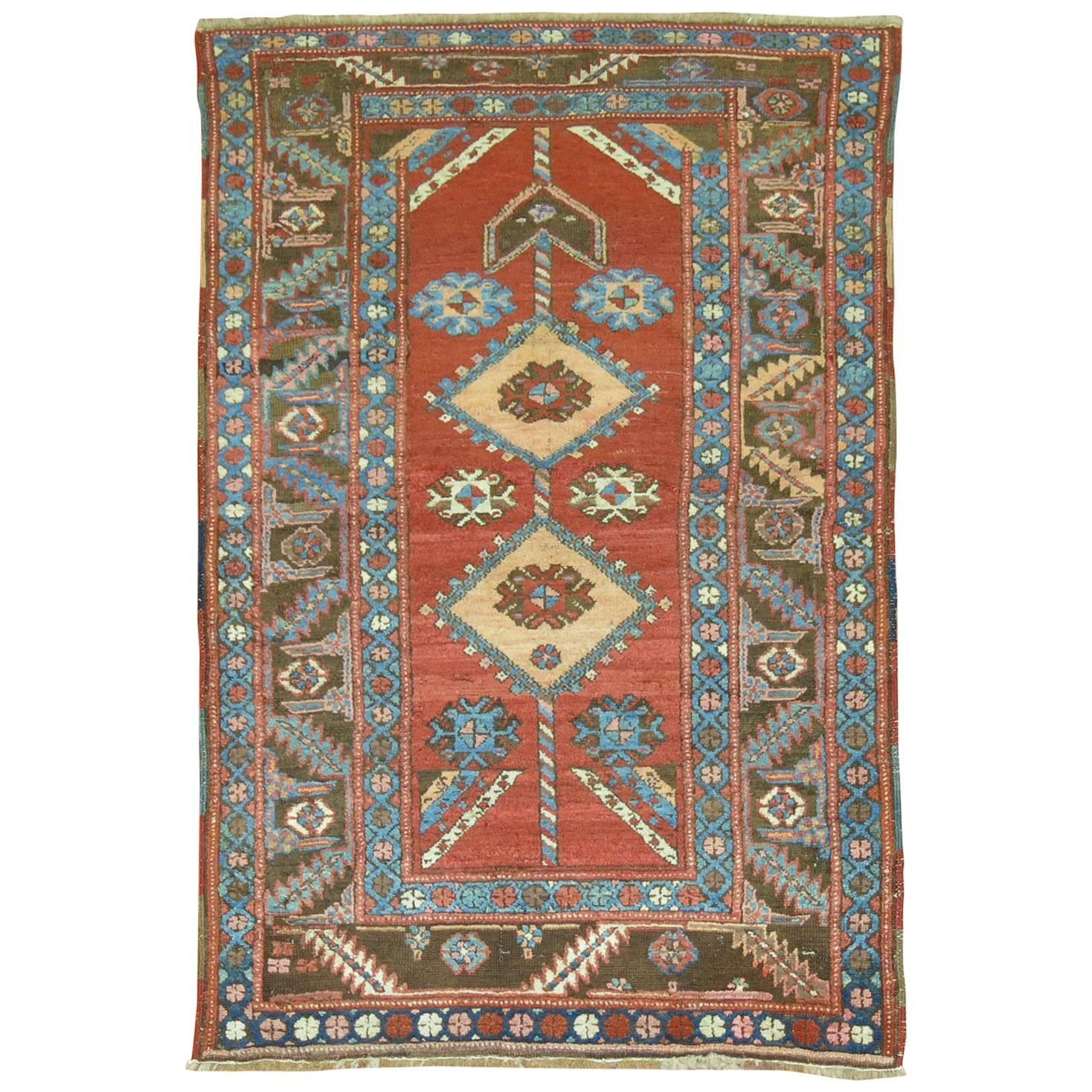 Persian Tribal Rugs: Tribal Persian Bakshaish Style Rug For Sale At 1stdibs