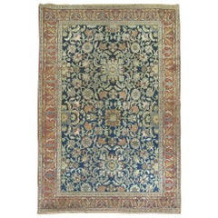 Antique Persian Bibikabad Senneh  Rug
