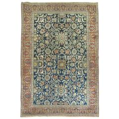 Antique Persian Bibikabad Senneh Style Rug