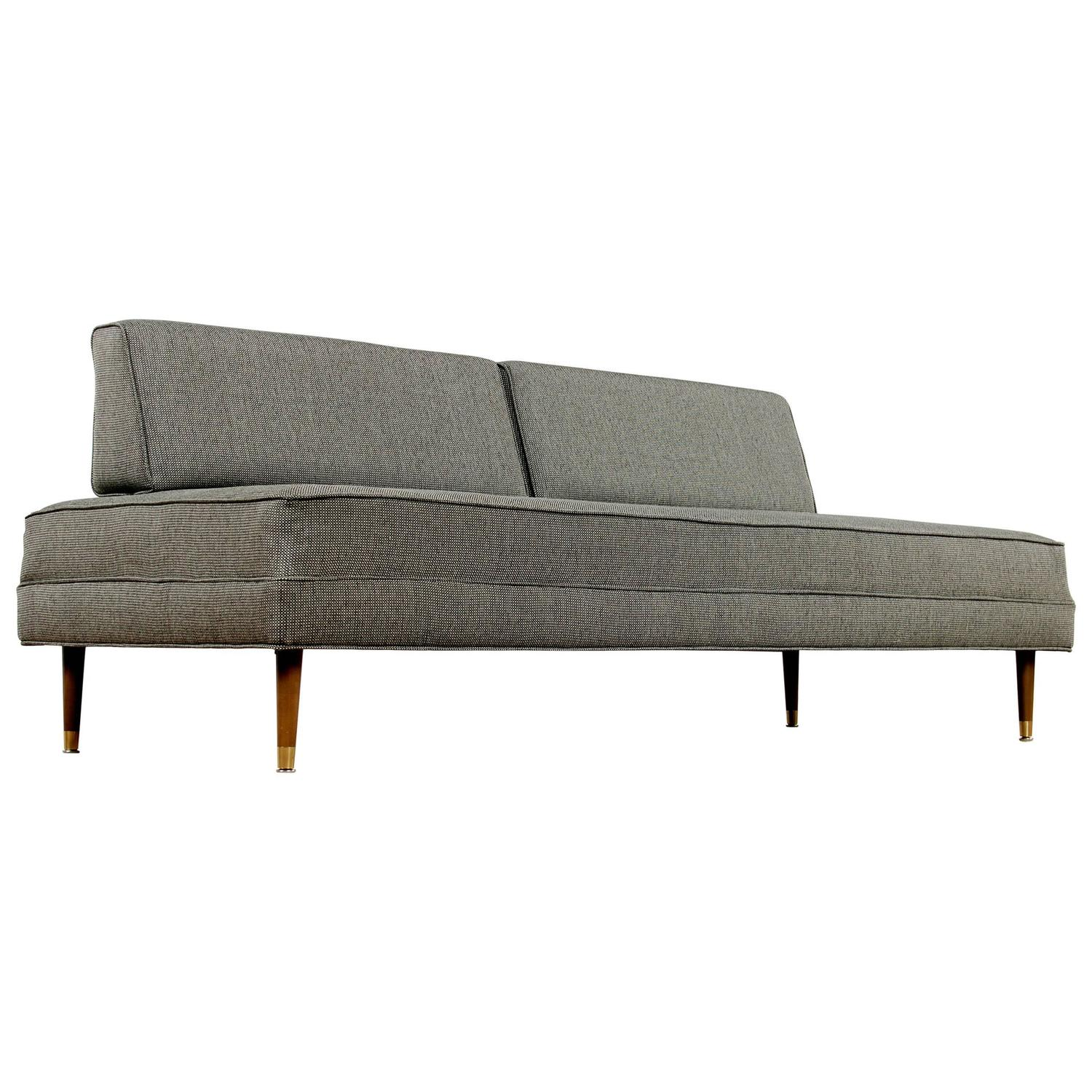 Mid Century Modern Sofa For Sale: Restored Mid-Century Modern Daybed Sofa For Sale At 1stdibs