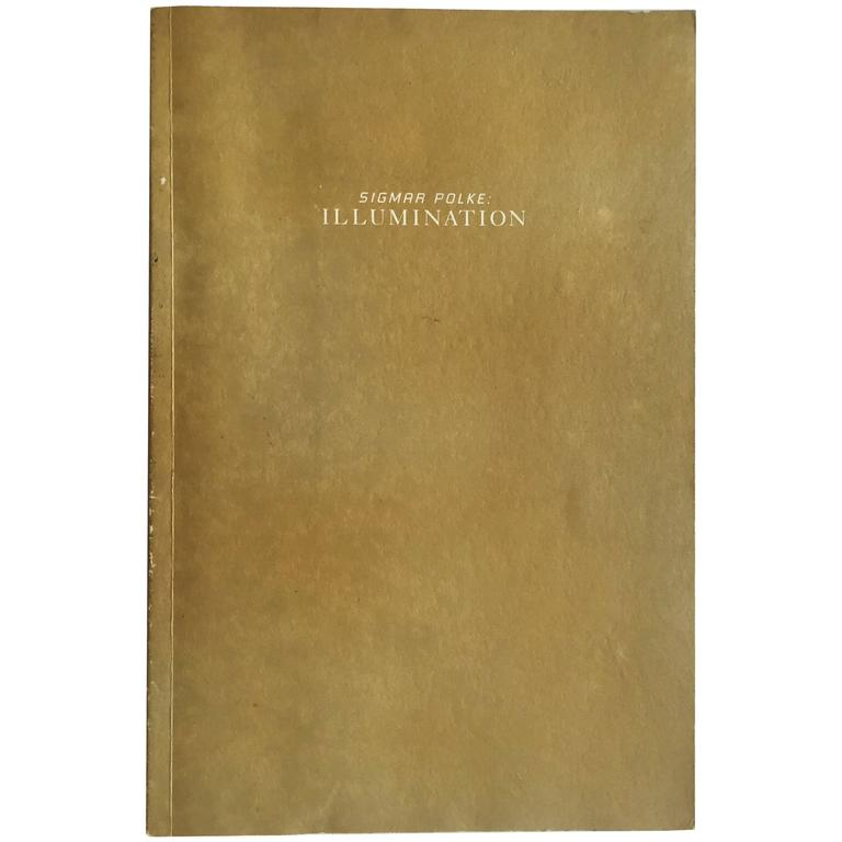 Sigmar Polke, Illumination Book For Sale