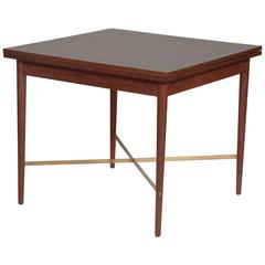 Paul McCobb Card Table with Folding Top