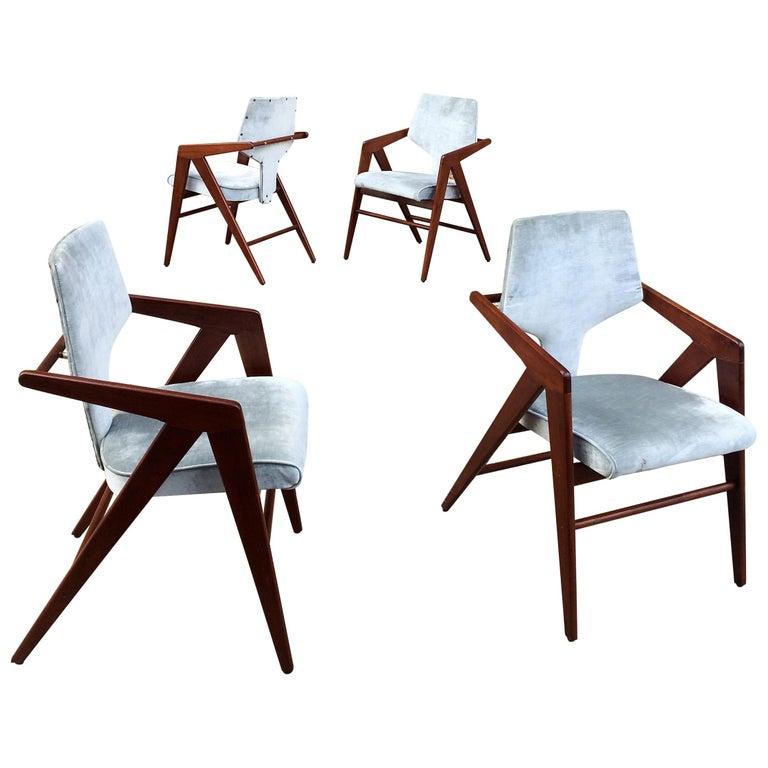 Compass Chairs By Cornelis Zitman For Tecoteca Furniture Hotel Humbold