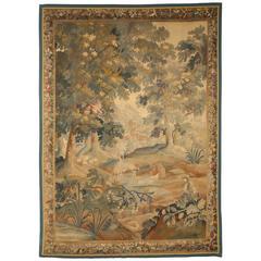 French 19th Century Verdure Tapestry