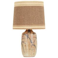 David Cressey Lamp for Architectural Pottery with Maria Kipp Shade, circa 1960s