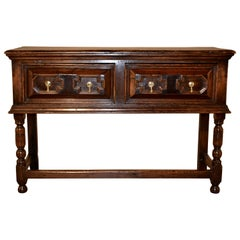 17th Century English Oak Sideboard