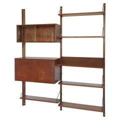 Poul Cadovius Wall Units System in Teak from the 1960s