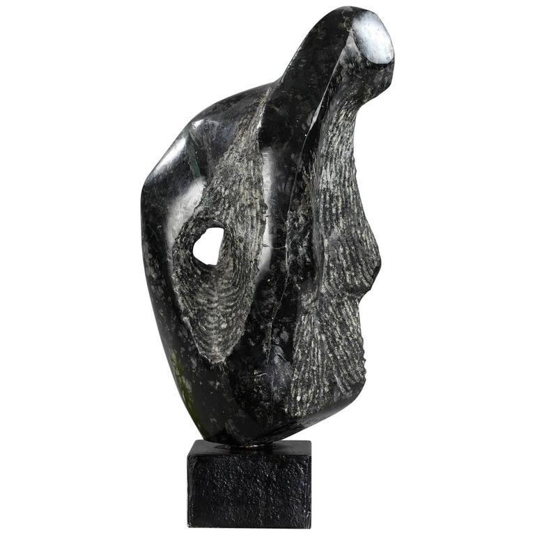 Late 20th Century Swivel Marble Sculpture