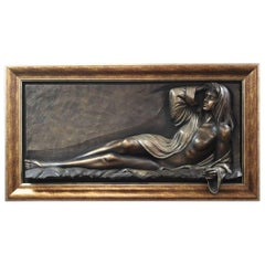 Bill Mack, Large Bonded Bronze Relief