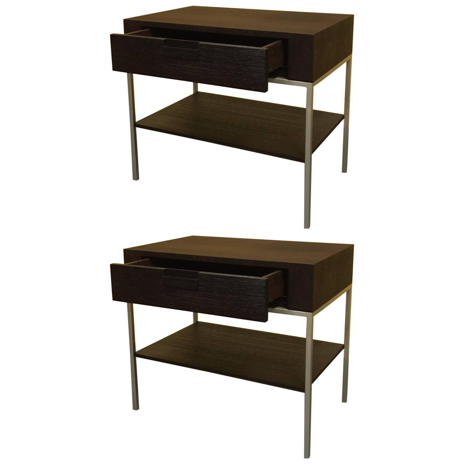 B&B Italia Maxalto Collection Nightstands Or End Tables By