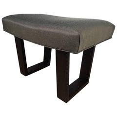 Robsjohns -Gibbings Style Ebonized Bench
