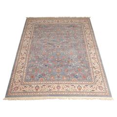 Large Vintage Indian Agra Carpet