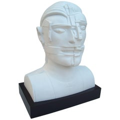 "Sir Eduardo Paolozzi ""Portrait of an Actor"" Porcelain by Rosenthal"
