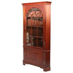 18th Century American Corner Cupboard