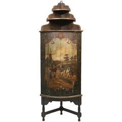 18th Century Dutch Corner Cupboard