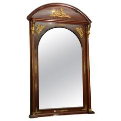 Superb 19th Century Napoleonic Oversized Mirror