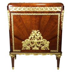 French 19th-20th Century Louis XVI Style Belle Époque Ormolu-Mounted Cabinet