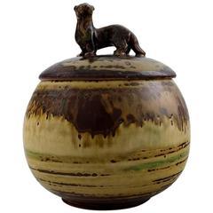 Knud Kyhn for Royal Copenhagen Ceramic Lidded Jar