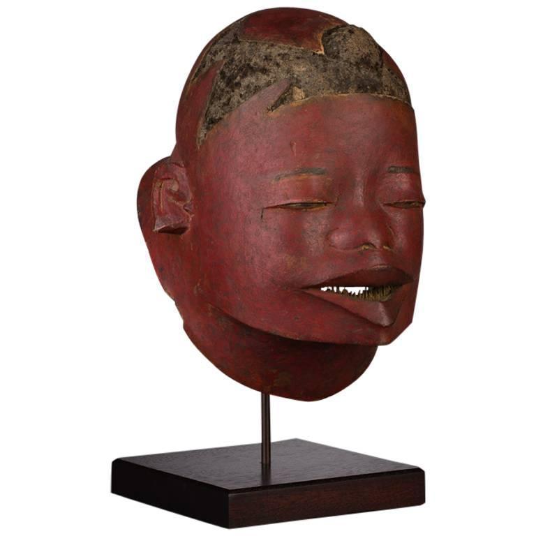 20th Century Tribal Makonde Helmet Mask