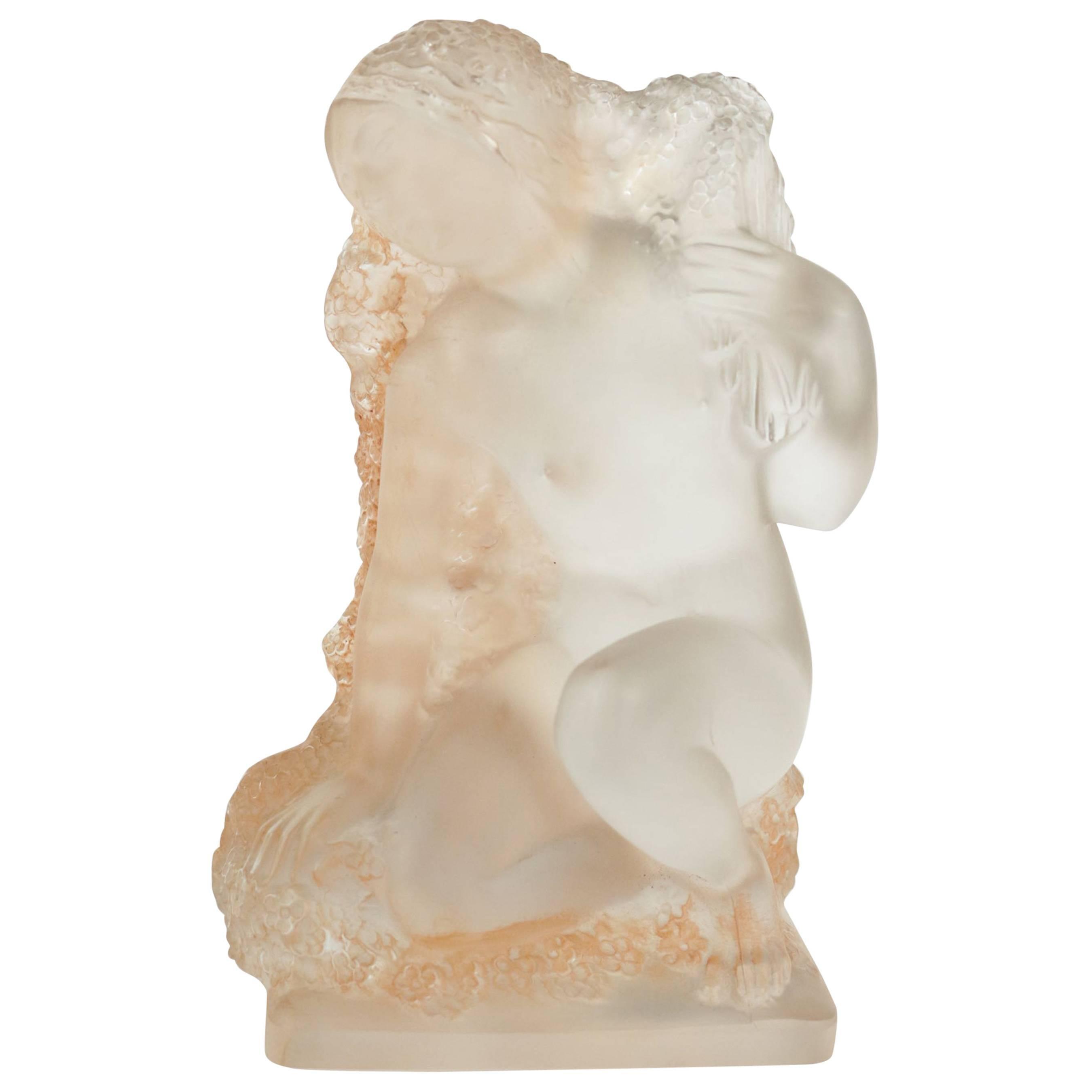 """René Lalique Statuette """"Printemps"""""""