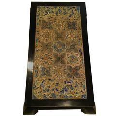 Large Persian Tile Coffee Table