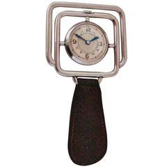 Rare Swiss Art Deco Pocket/Table, Encapsulated/Hermetic Watch