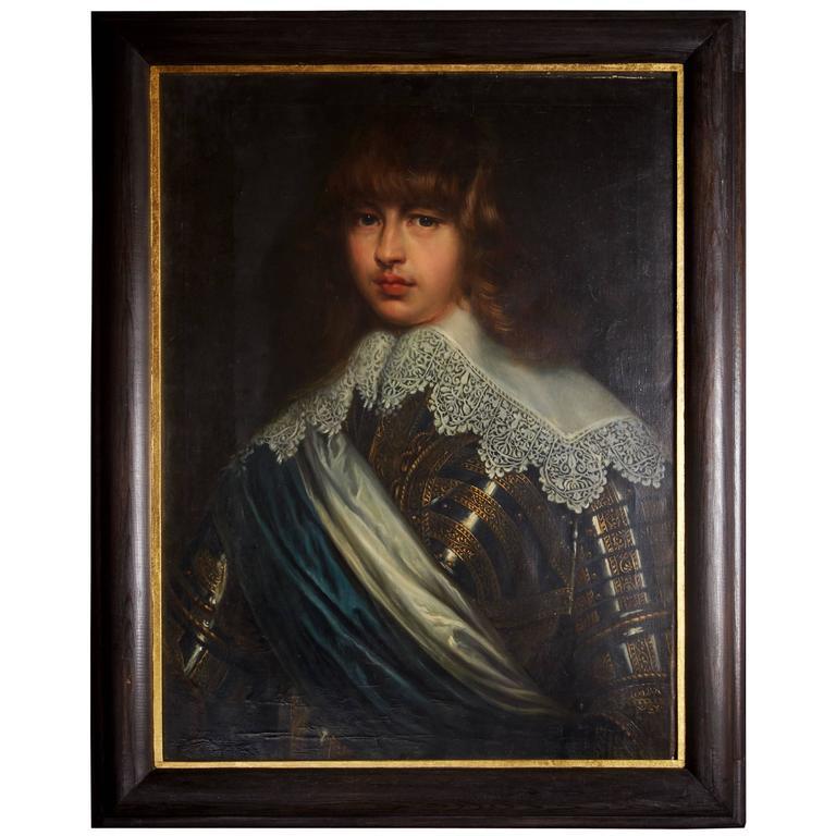 After Justas Sustermans, portrait of Prince Waldemar of Denmark, 18th century