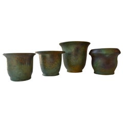 Art Deco Ceramic Vases by Frans van Katwijk