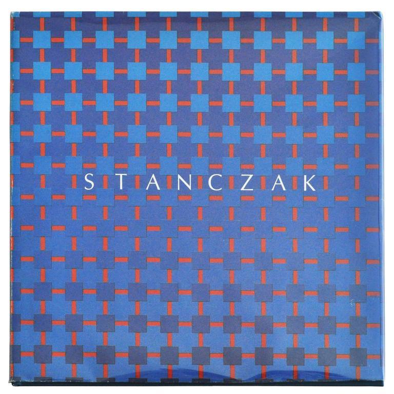 1990 Monograph on Op-Artist Julian Stanczak For Sale