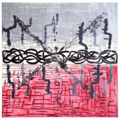 "Sancie Austin Abstract ""Energy Tilt"", 2013"