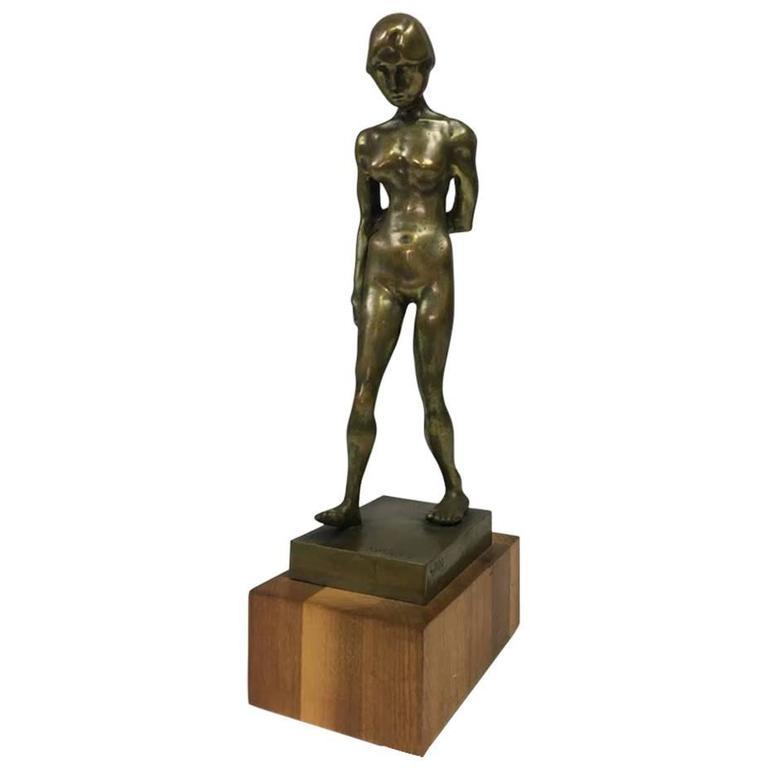 Karpel Bronze of Standing Nude