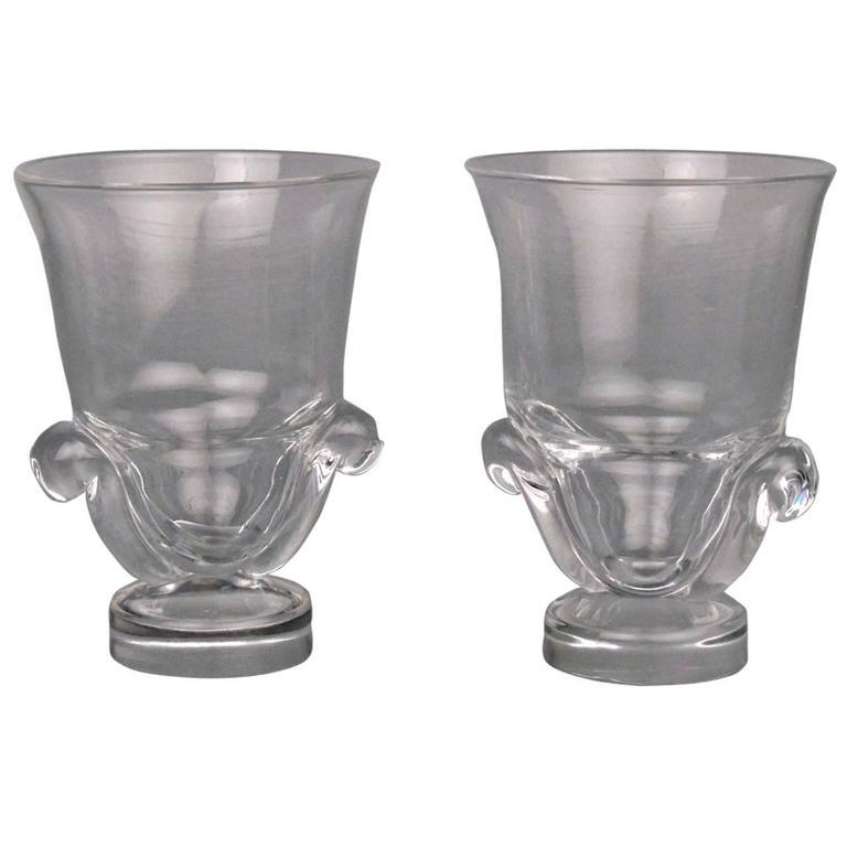 Ivrene Glass Vase By Frederick Carder For Steuben For Sale At 1stdibs