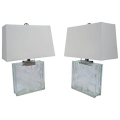 Pair of Modern Table Lamps by Raymor