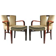 Pair of Paul Frankl Armchairs or Dining Chairs