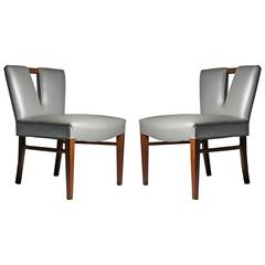 Pair of Paul Frankl Side Chairs