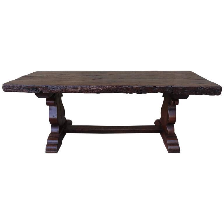 19th Century Spanish Trestle Table