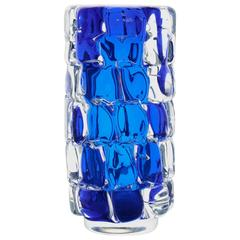 Blue 'Knobbly' Vase