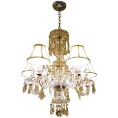 Exceptional Hollywood Crystal Chandelier