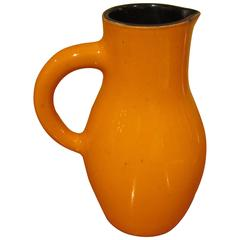 Ceramic Carafe by Georges Jouve, Signed