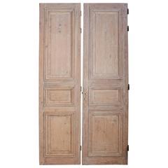 Pair of Louis XVI Doors