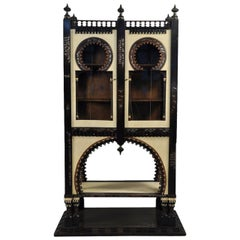Important and Rare Cabinet by Carlo Bugatti