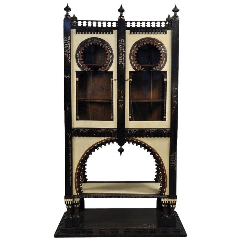 Important and Rare Cabinet by Carlo Bugatti For Sale