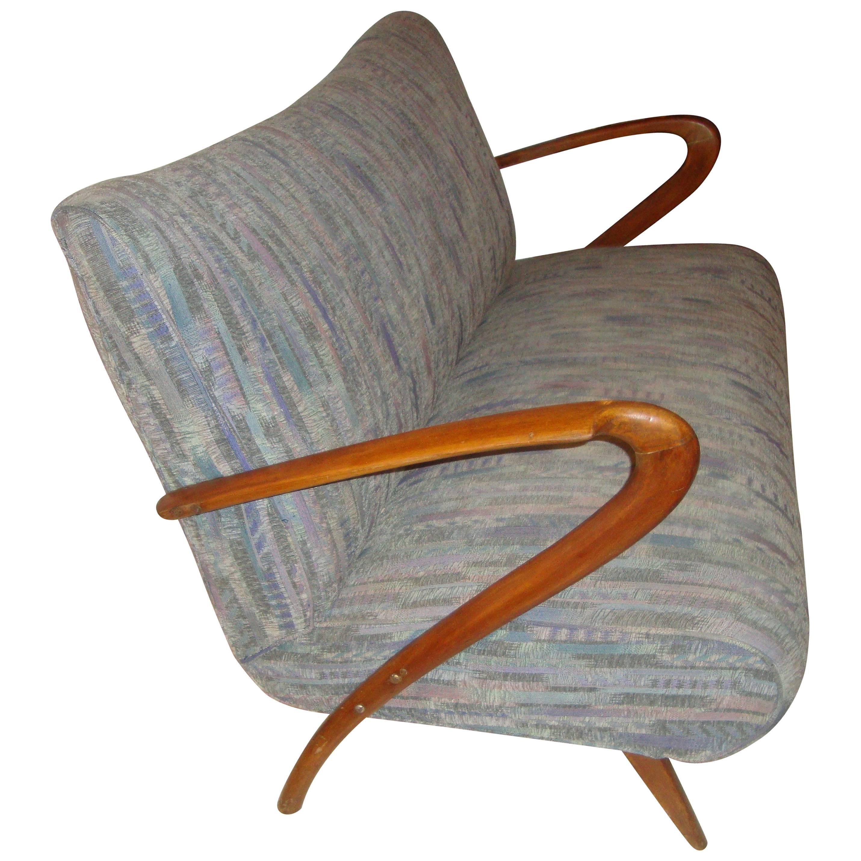 Mid-Century Modern Z Canape Sofa